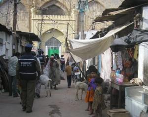 Indian back street